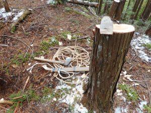 山仕事の道具